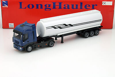 Iveco Stralis Oil Transporter Blue/White/Black 1:43 Newray