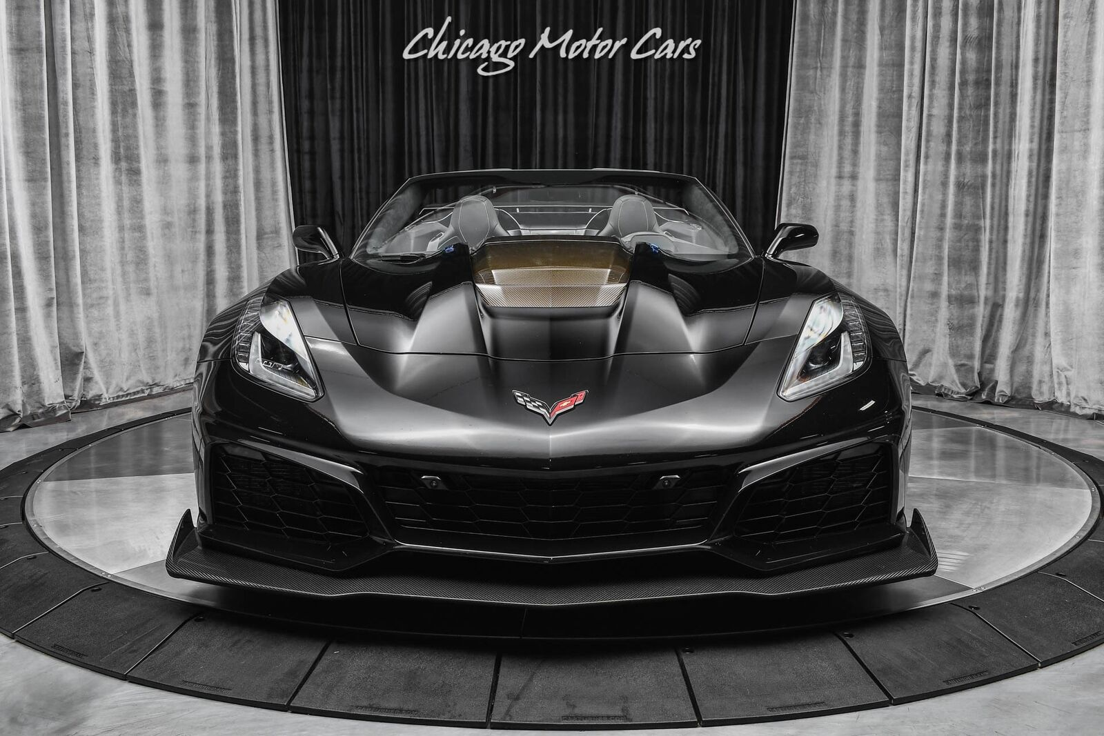 2019 Black Chevrolet Corvette ZR1 3ZR | C7 Corvette Photo 7