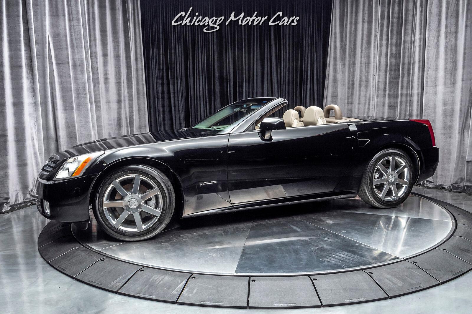 2004 Cadillac XLR Hardtop Convertible MSRP $75,385 RARE EXAMPLE! 16K Black Raven