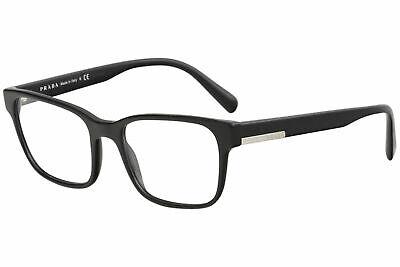 Prada Men's Eyeglasses VPR06U PR06UV 1AB1O1 52 Black Full Rim Optical Frame (Prada Frames For Men)