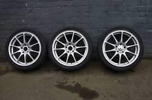 Mazda 6 alloys, 235/40 R18 Advanti Racing x 3 South Melbourne Port Phillip Preview