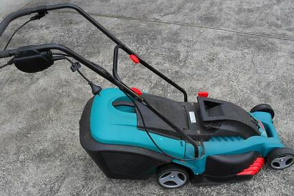 LAWN MOWER BOSCH ELECTRIC ROTAK 43 1700 W Minimal Use EXC COND ! Sandy Bay Hobart City Preview