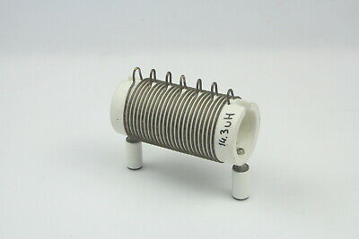 Air Coil Rf Inductor 14.3 Uhdiameter 54mmlong 90mm Wire 2mm Ceramic