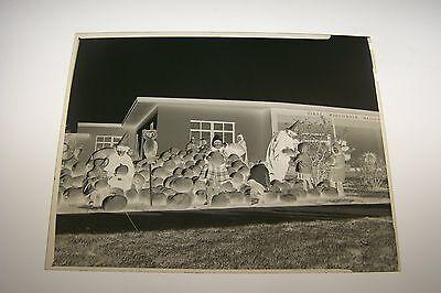 #1026 PHOTO NEGATIVE - 1965 HALLOWEEN - F. WISCONSIN BANK - Halloween Wisconsin