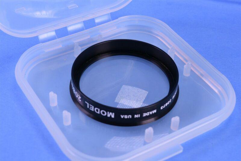 Gamma Scientific Calibration Lens 20830 2215965-007 Positive Meniscus Optics