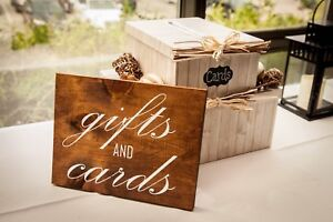 Wedding Signs (Gifts and Cards)