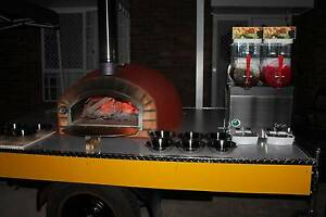 Wood- fired Pizza Parties - DIY pizza trailer  party  hire Jimboomba Logan Area Preview