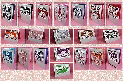 Brother ScanNCut Vehicles card & mat templates CD1048