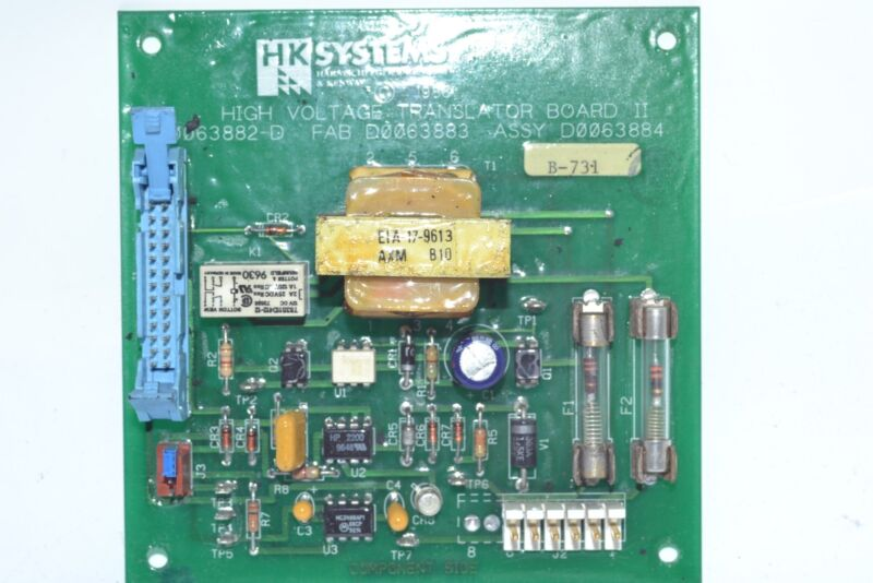HK Systems 0063882-D High Voltage Translator Board II PCB