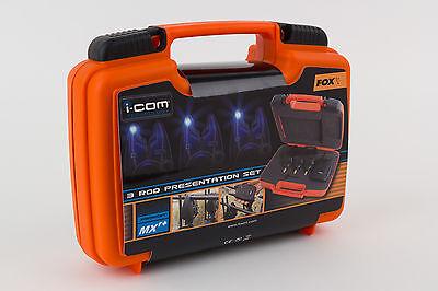 Fox MXR+ Bite Alarm Set - 3 Alarms & Receiver in a Presentation Case *Brand New*