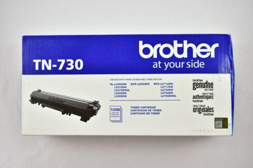 Brother Genuine TN730 Standard Yield Black Toner Cartridge HL-L2350DW/MFCL2710DW