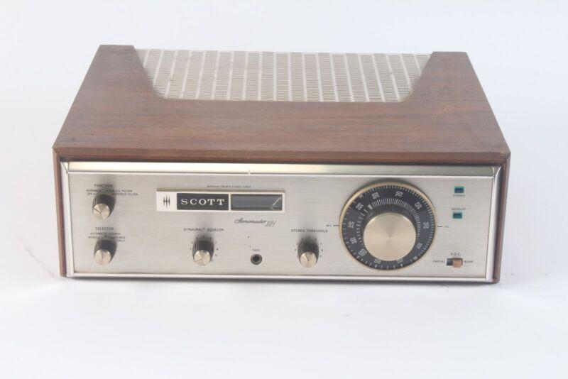 Scott 310-E Vintage Stereomaster Wideband FM MPX Stereo Tube Tuner