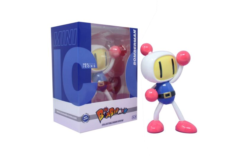 Bomberman Mini Icons 5.9 Inch Collectible Resin Statue | Classic Colors