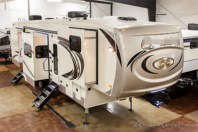 New 2019 Model 386FK Front Kitchen 5th Fifth Wheel for Sale Luxury 5 Slide Out