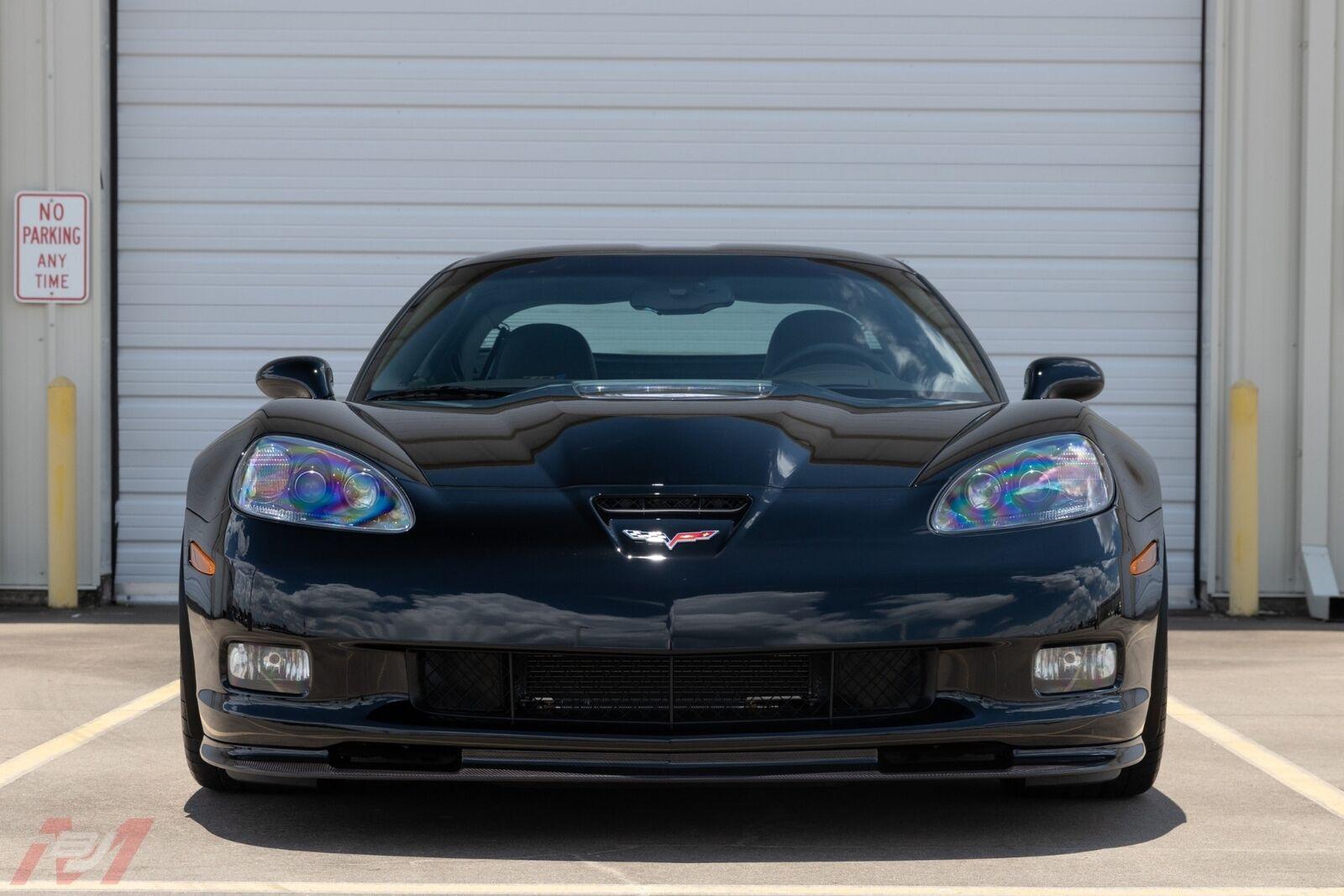 2009 Black Chevrolet Corvette ZR1    C6 Corvette Photo 6