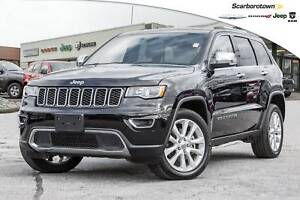 2017 Jeep Grand Cherokee Limited+V8+NAV+ROOF+LDED