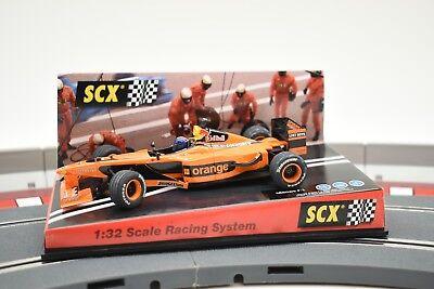 SCX ANALOG 1/32 SLOT CAR 60980 ARROW F-1 G.P MONACO 2002