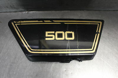 1976 <em>YAMAHA</em> XS500 <em>XS 500</em> RIGHT SIDE COVER PANEL COWL FAIRING
