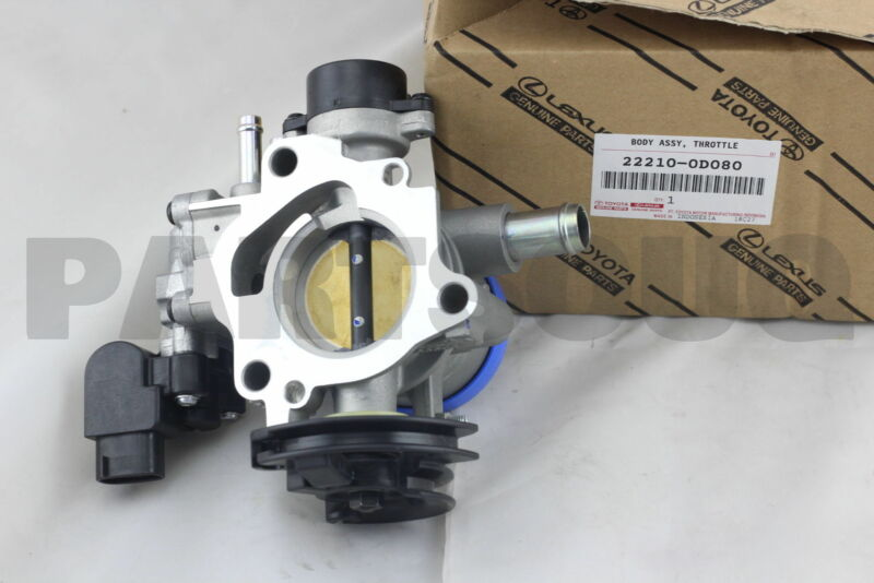 222100d080 Genuine Toyota Body Assy, Throttle 22210-0d080
