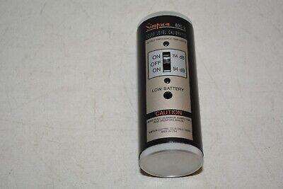Simpson Sound Level Calibrator 890-2