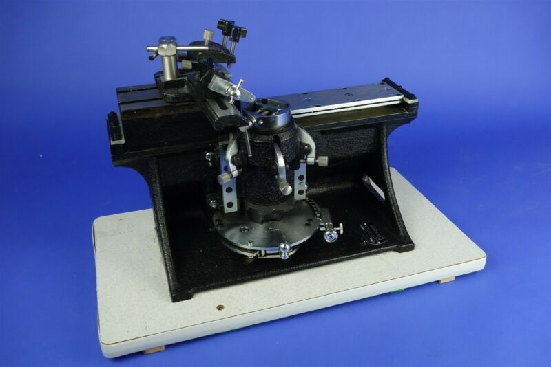 AO American Optical Model 860 Sliding Microtome + Accessories - Excellent