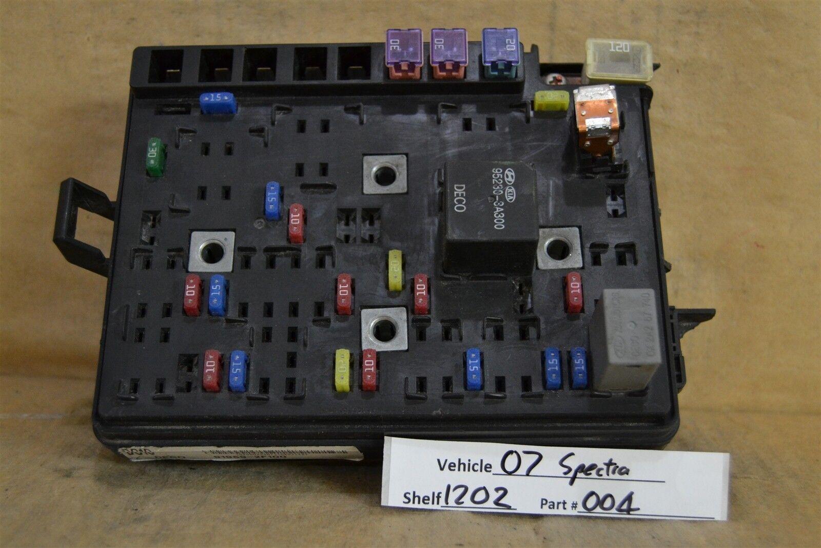 2008 Kia Spectra Fuse Box Location Wiring Library Sorento 2007 Relay Unit 919592f100 Module 2004 12o2