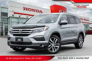 2018 Honda Pilot Touring | Heated & Cooling Seats, Rearview Came