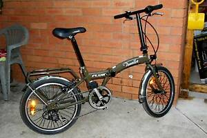 'FLUID' folding / portable bike $240 Please E-MAIL only. Cranbrook Townsville City Preview