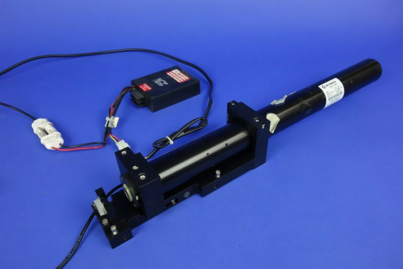 JDS Uniphase 1135P-2930 Laser Head with Power Supply - Working