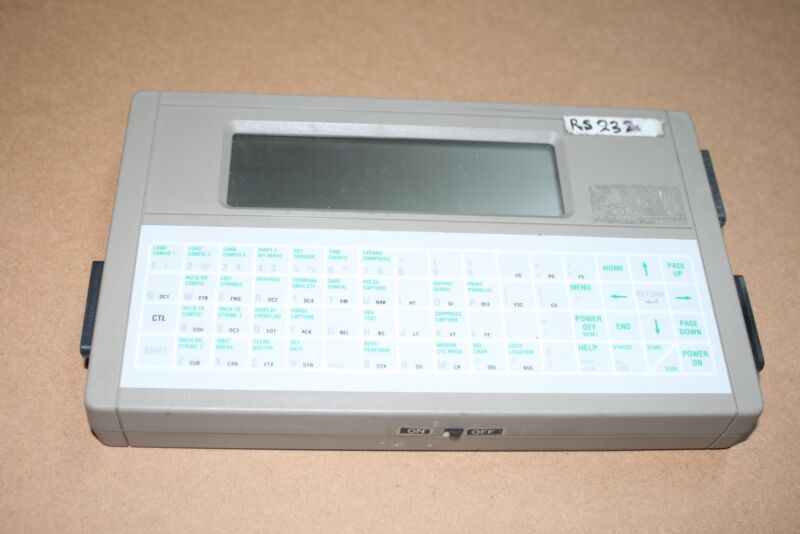 Benedict Computer DLM200 Serial RS232 Protocol Analyzer - Sync/Async, 8 line LCD