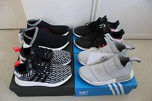 Adidas NMD, City sock, CS2 and Eqt sizes US 7.5 and 8 Eight Mile Plains Brisbane South West Preview