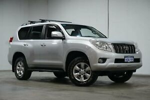 2013 Toyota Landcruiser Prado KDJ150R GXL Silver 5 Speed Sports Automatic Wagon Welshpool Canning Area Preview