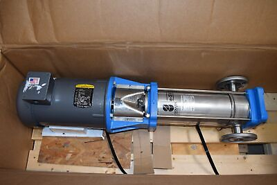 New Goulds Pump Motor 3sv15fg4f20 E-sv Series Vertical Multi-stage Pump 5hp