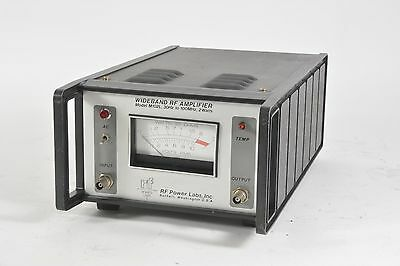 Rf Power Labs Wideband Rf Amplifier Model M102l 30hz To 100mhz 2 Watts
