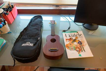 Hawaiian Ukulele with Music book Ascot Vale Moonee Valley Preview