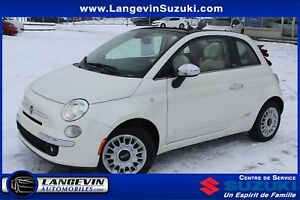 2015 Fiat 500C Lounge/CONVERTIBLE/AUTOMATIQUE