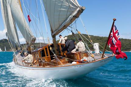YACHT 60 ft MODERNISED CLASSIC from GREAT GATSBY