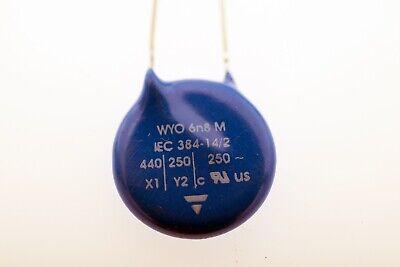 Gebraucht, 2x IEC384-14/2 EPCOS Kondensator X1 440VAC Y2 250VAC WYO 6n8M # 712387 gebraucht kaufen  Augsburg