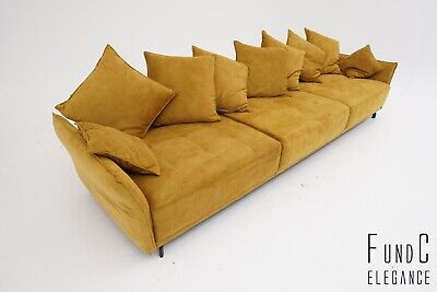 Design Couch Golden Nugget Lounge-couch Sofa Stoff gold in ...