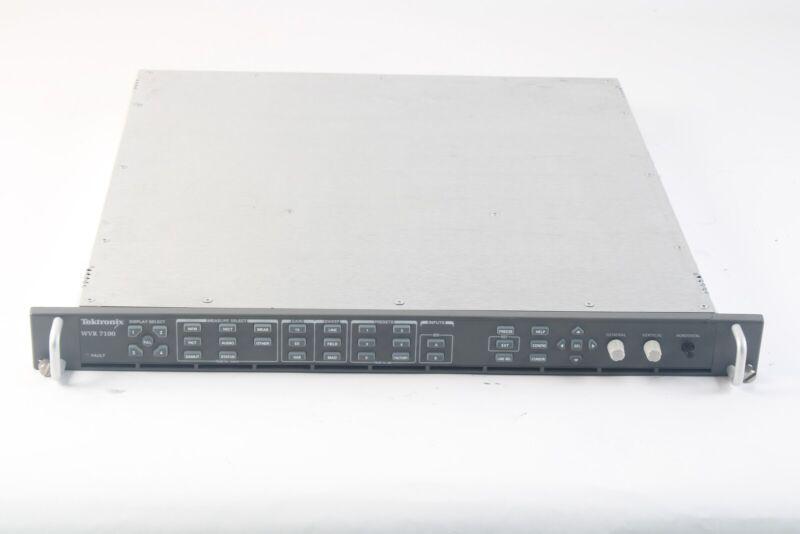 Tektronix WVR 7100 Multi-Standard Wareform Rasterizer - Options SD, HD, DD
