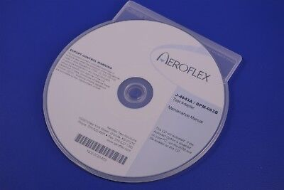 Ifr Aeroflex Fmam-1600s J-4843a Rpm-003b Test Adapter Maintinance Manual