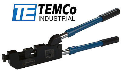 Temco Hd 10ga400mcm Dieless Indent Lug Crimper Tool Battery Terminal Cable Wire
