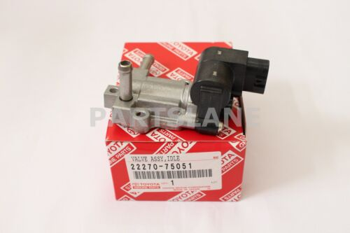 22270-75051 Toyota Oem Genuine Valve Assy, Idle Speed Control(for Thlottle Body)