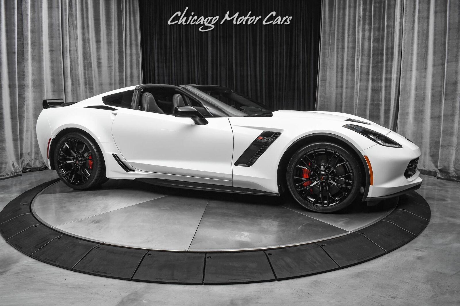2019 White Chevrolet Corvette Z06 2LZ   C7 Corvette Photo 6