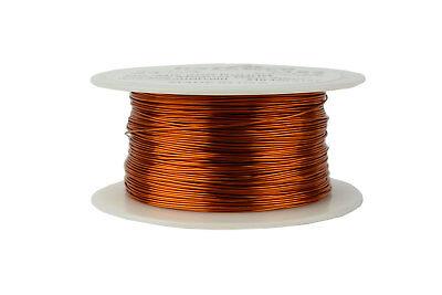 Temco Magnet Wire 24 Awg Gauge Enameled Copper 200c 8oz 395ft Coil Winding