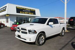 2017 Ram 1500 Sport - DUAL EXHAUST - LEATHER - SUNROOF