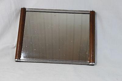 Elegantes ART DECO  Tablett - mit Spiegel - BAUHAUS