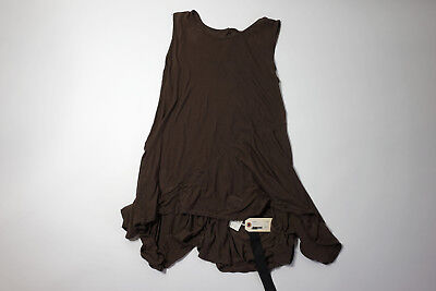 Rick Owens drkshdw Jersey Tank Dress Bitter Wax Brand New Size Medium M $390