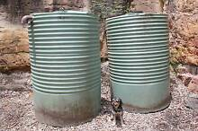 2X 1500L Round Rainwater Tanks and a PressMatic Pump Illawong Sutherland Area Preview