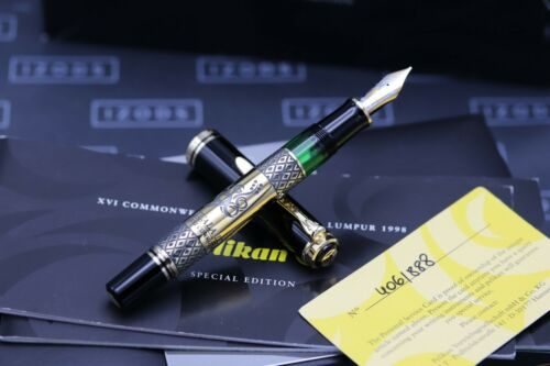 Pelikan M800 Commonwealth Games 1998 Limited Edition Fountain Pen - UNUSED 1